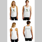 Capital Crew Cotton Blend Tank Tops